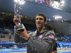 Michael Phelps awarded for being the most decorated Olympian! It's the end of an Olympic Swimming Era! Go Team USA! Congrats Phelps!