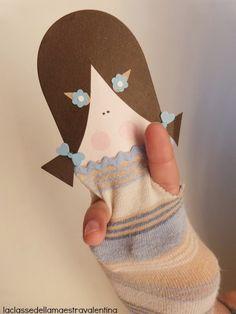 MENTŐÖTLET - kreáció, újrahasznosítás: Régi pulóverből, vagy zokniból: KESZTYŰBÁB