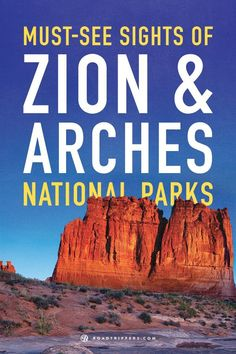 Both Zion National Park and Arches National Park have beautiful geological wonders. We compiled our top must see sights so you don't miss out on anything.