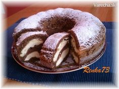 Bábovka s tvarohom - Cake with cream cheese Slovak Recipes, Czech Recipes, Mexican Food Recipes, Sweet Recipes, Just Desserts, Delicious Desserts, Yummy Food, Poke Cakes, Cupcake Cakes