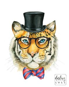 307095011e605ab4c4078ff24b283c18--watercolor-tiger-watercolor-animals.jpg (570×723)