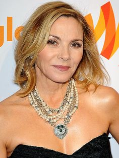 "SKIN SAVER  Sex and the City's Kim Cattrall has a few tricks up her sleeve for looking ageless: She's the face of Olay Total Effects 7-in-1 Advanced Anti-Aging Body Wash, for one, and she's got a fab foundation tip that ensures she always meets her match. ""I use a honey-beige base … and in the winter months, I [mix in] one lighter,"" she explains. ""You can't just wear one base all year round – this is really good."" #skincare #olay"