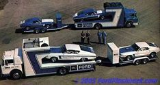1969-1970 Ford Drag Team: Team included- 2-1969 428 Cobra Jet Torinos, 2-1969 428 Cobra Jet Mustangs in Super Stock, & 2-1969 Mustang fastbacks equipped with the famous 427 SOHC