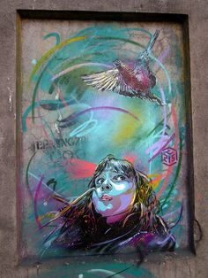C215 - Oslo (Norway) by C215, via Flickr