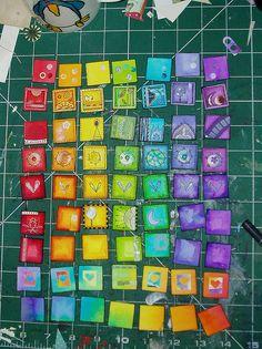 Rainbow Inchies