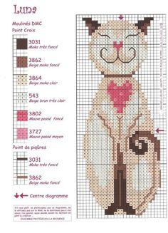 ru / Photo # 123 - Bunnies and Seals - BlueBelle Cat Cross Stitches, Cross Stitch Books, Cross Stitch Bookmarks, Cross Stitch Animals, Cross Stitch Charts, Cross Stitch Designs, Cross Stitching, Cross Stitch Embroidery, Embroidery Patterns