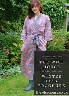 The Wise House Winter Brochure 2016  Enjoy a virtual flick-through our new brochure, packed to the brim with unique gift ideas. From ethical loungewear and organic beauty to homegrown socks and eco food accessories - there is something for everyone!