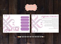 Instant Download  Jamberry Accent Nail Sheet by digitaldetours