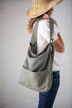 Canvas Handbags, Canvas Bags, My Bags, Hobo Bags, Slouch Bags, Diy Handbag, Crossbody Bag, Tote Bag, Linen Bag