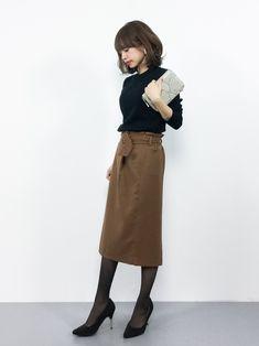 N.(N. Natural Beauty Basic)のニット・セーター「ウォッシャブルウールリブクルーネックニット」を使ったeriko(ZOZOTOWN)のコーディネートです。WEARはモデル・俳優・ショップスタッフなどの着こなしをチェックできるファッションコーディネートサイトです。