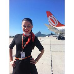 GOL Airlines Stewardess @camomilabs