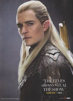 Orlando Bloom looks SOOOOOOO different than from Lord Of The Rings.....