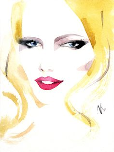 Irina Kaygorodova Fashion Illustration