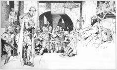 Afbeeldingsresultaat voor prince valiant harold foster