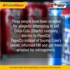 This fact was really bizarre yet interesting. Isnt it? #Pepsi #Cocacola