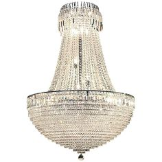 For Sale on - Straus crystal chandelier with very large spray of lights which reflects great color. Art Deco Chandelier, Bronze Chandelier, Chandelier Shades, Vintage Chandelier, Chandelier Pendant Lights, Modern Chandelier, French Empire Chandelier, Italian Chandelier, Chandeliers