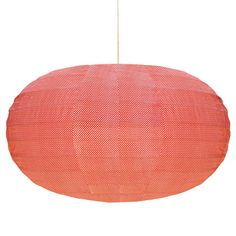 Discover this Fabric Lantern Ufo Circles Orange Bakker with Lili's : Online Shop for Decorative Objects, Lighting, Home Decor, Stationery.