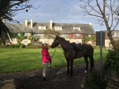 All Connemara Equestrian Escapes guests feel at home at Renvyle House Hotel Riding Holiday, Ireland Holiday, Connemara, Horse Riding, Horseback Riding, Equestrian, Horses, Animals, Animales