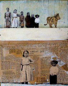 "Saatchi Online Artist: Heather Murray; Mixed Media ""great joy"""