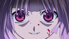 Elfen Lied where little girls with pink hair and eyes are monstrous killers