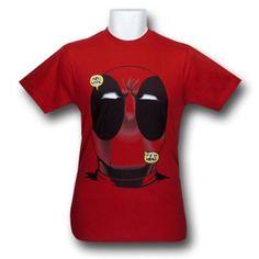 Amazon.com  Deadpool Big Head Fine Jersey T-Shirt  Clothing ( 20 a88d0fc96d8e2