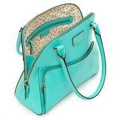 Kate Spade Aqua blue Madea Kate Spade Wellesley, Cute Bags, Mint Bag, Bag 4013241cd1ff