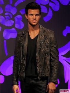 Taylor Lautner wax figure