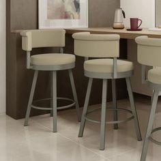 Amisco Rosco swivel bar stool