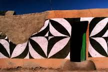 Basotho Painted Houses, When One Door Closes, Let Me In, Art Africain, Cob, African Art, House Painting, Art And Architecture, Wall Murals