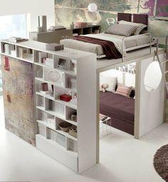 180 Ideas De Cama Arriba Espacio Abajo Dormitorios Decoración De Unas Camas