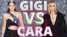 Gigi Hadid VS Cara Delevingne YouTubers Decide