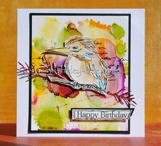 shirley-bee's stamping stuff: The Mixed Media Card Challenge - Autumn Colours Brusho, Autumn Colours, Bees Knees, Alcohol Inks, Distress Ink, Autumn Inspiration, Paper Art, Stamping, Stencils