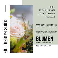 Blumenladen im Westen der Stadt St. Gallen St Gallen, Urn, City