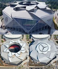 Atlanta United's Mercedes-Benz Stadium is a thing of architectural beauty.