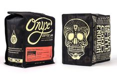 New Packaging for Onyx Coffee Lab Will Bring You Back to Life #coffee trendhunter.com