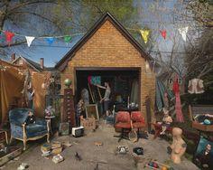 Julie Blackmon - Garage sale
