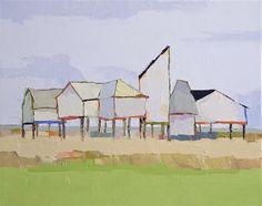 """Daily+Paintworks+-+""""Coastal+Living""""+-+Original+Fine+Art+for+Sale+-+©+Donna+Walker"""