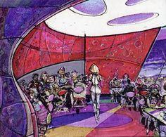 The Theme Building Encounter Restaurant - A WDI wonder outside disney theme parks