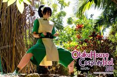 Avatar: The Last Airbender Cosplay - Toph Bei Fong