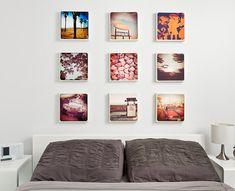 Canvaspop - canvas mounted instagram photos.