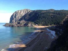 Playa de Laga, 01 ene 2015. Foto de agroturismo Urresti.