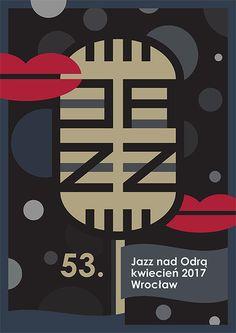 """Przejrzyj mój projekt w @Behance: """"Jazz nad Odrą - plakat"""" https://www.behance.net/gallery/43547031/Jazz-nad-Odra-plakat"""