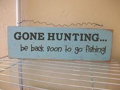 Vinyl: Gone Hunting... be back soon to go fishing! @VinylExpressions