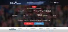 #CWC2015 is on, watch cricket world cup final live online. Use the following website for live final streaming...