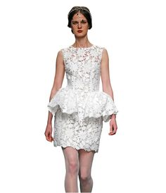 Dress by Isabel Sanchis at Barcelona Bridal Fashion Week