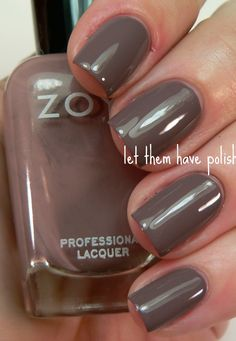 Zoya - Jana ...love this color for fall, along with OPI -- You Don't Know Jacques
