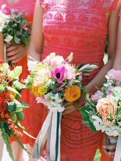 Photography: Michael + Anna Costa Photography - michaelandannacosta.com  Read More: http://www.stylemepretty.com/2015/06/08/colorful-santa-barbara-wedding-3/