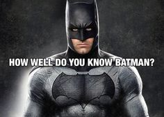 Take this quiz to find out how well you know one of the greatest superheroes of all time! Tvs, Quizzes, Did You Know, Science Fiction, How To Find Out, Batman, Wellness, Fictional Characters, Sci Fi