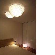 Barbapapa - ceilinglamp made of clear PET bottles Pet Bottle, Bottles, Lighting, Home Decor, Room Decor, Home Interior Design, Lightning, Lights, Home Decoration