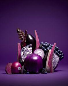 Coloring Of Fruits and Vegetables Elegant La Belle Abeille — Nicolasmenu Fruits & Ve Ables Purple Fruit, Purple Food, Vegetables Photography, Fruit Photography, Fruit And Veg, Fruits And Vegetables, Purple Vegetables, Veggies, Ikebana